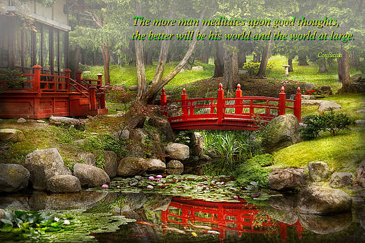 Mike Savad - Inspiration - Japanese Garden - Meditation