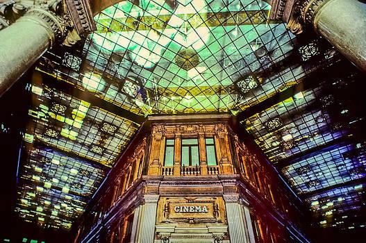 Interior of the Galleria Colonna - Roma -  1988 by Martin Liebermann