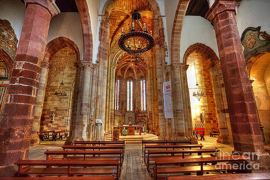 English Landscapes - Interior Silves Cathedral