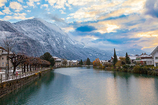 Interlaken at Dawn by Matthew Riccio