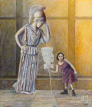 Nikos Smyrnios - Invalid Greek Girl Selling Lottery Tickets