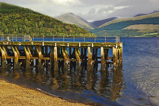 Jane McIlroy - Inverary Harbour - Loch Fyne - Scotland