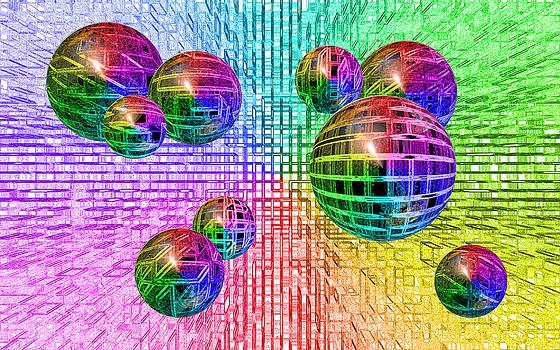 Regina  Williams  - Inverted Background Techno Bubbles