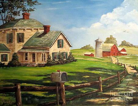 Iowa Farm by Lee Piper