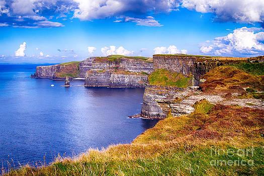 Ireland - Cliffs of Moher by Juergen Klust