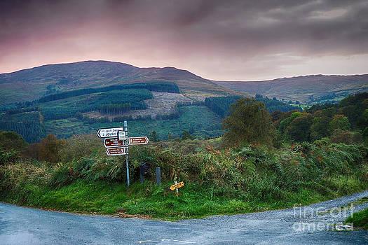 Ireland - Wicklow Way  by Juergen Klust