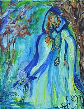 Iris by Jennifer Christenson