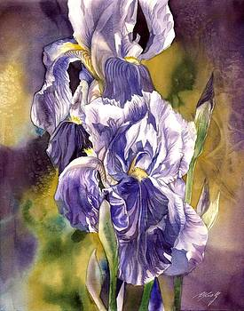 Alfred Ng - iris with yellow