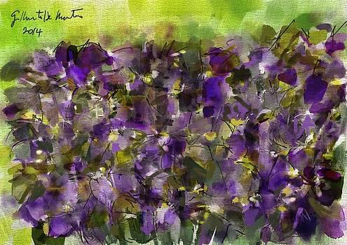 Irises by Gilberto De Martino