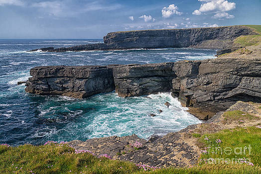 Irish Cliffs by Juergen Klust