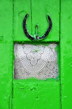 Irish Door by Sharon Sefton