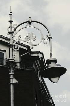 Irish Lampost by Kiana Carr