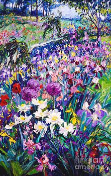 Iristime The Artist's Garden by Brian Mahieu