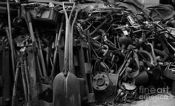 Iron pieces by Seung Cahn Kim