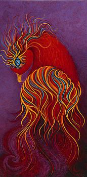 Isis Mythical Phoenix by Karen Balon