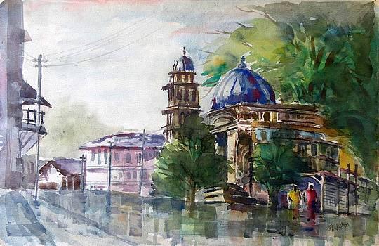 Islamic Mosque  by Hashim Khan