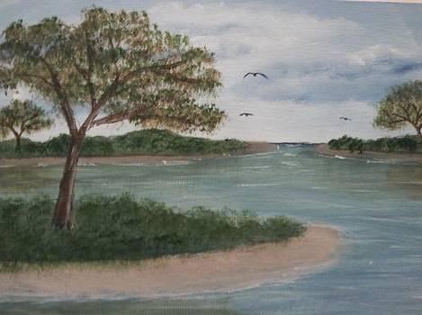 Island Beach by Michelle Treanor
