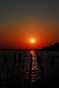 Island Heights Sunset by Joe Varneke