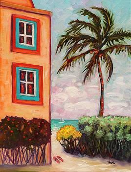 Island Palm by Eve  Wheeler
