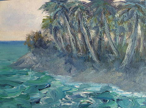 Island Palm Trees by Amber Palomares