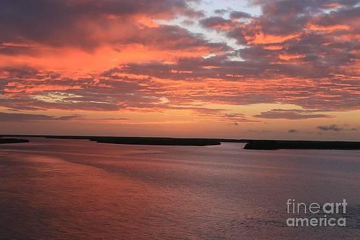 Island Sunrise by Don Fleming