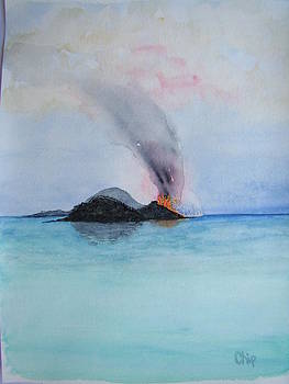 Island volcano by Chip Picott