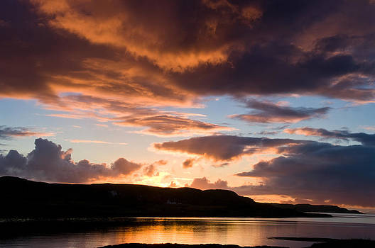 Isle of Skye Sunset by Jacqi Elmslie