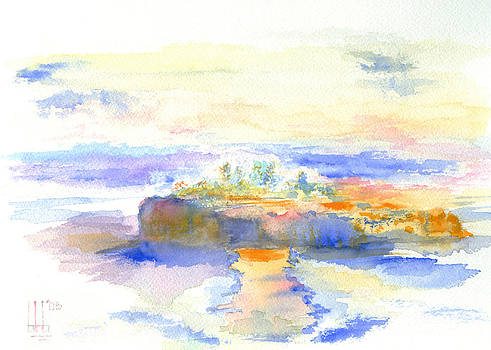 Islet in the Inland sea by Bruce Blanchard