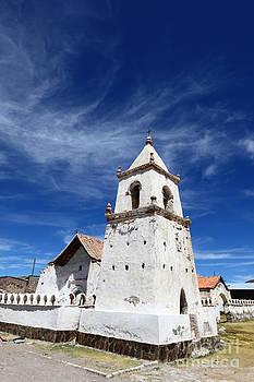 James Brunker - Isluga Church Bell Tower