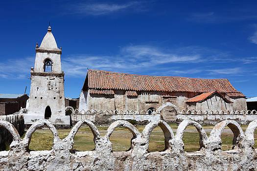 James Brunker - Isluga Village Church Chile