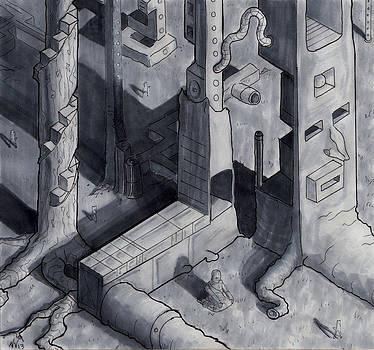 Isometric-Scape by Nicholas Vermes