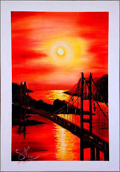 Istanbul Bridge by Shirwan Ahmed