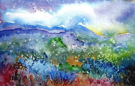 It Sometimes Rains in Tuscany Too  by Trudi Doyle