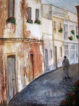 Italian Alley by Martha Efurd