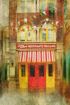 Italian Cafe by Kathy Jennings