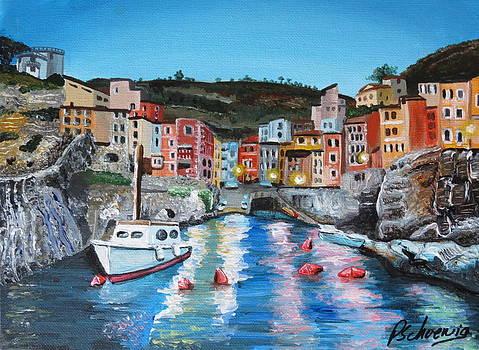 Italian Harbor by Paul Schoenig