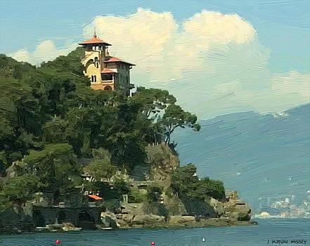 Italian Seaside by J Morgan Massey
