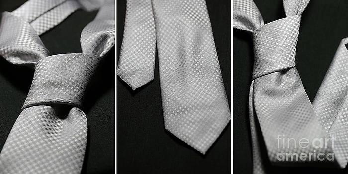 It's a Tie - Triptych by Trish Mistric