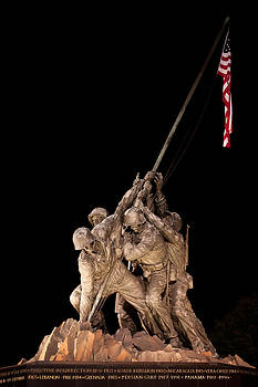 Iwo Jima Memorial by Leah Kimper
