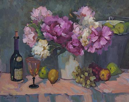 Diane McClary - J. P. Chenet and Peonies