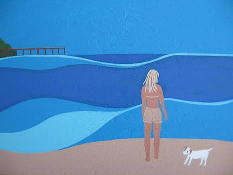 Jack at the Beach by Sandra McHugh