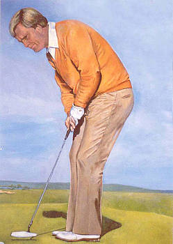 Jack Nicklaus by Donna Tucker