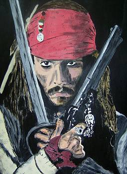 Jack Sparrow Johnny Depp by Dan Twyman
