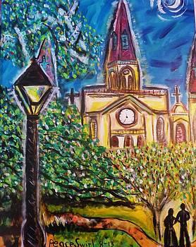 Jackson Square Glow by Debora PeaceSwirl DAngelo