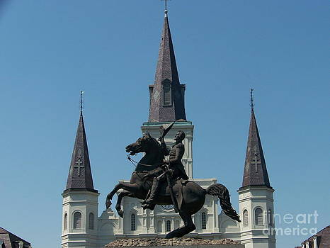 Jackson Square Salute by Kevin Croitz