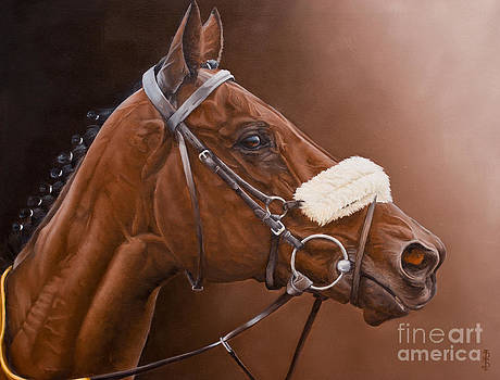 Jadanli- After the race. by Pauline Sharp