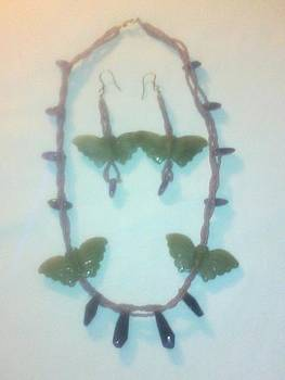 Jade Butterflies Together by Lyra's Prism