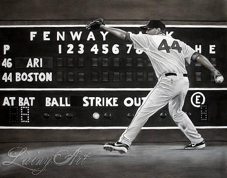 Jake Peavy - Red Sox Commission by Alaina Ferguson