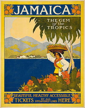 Jamaica The Gem Of the Tropics by Vintage