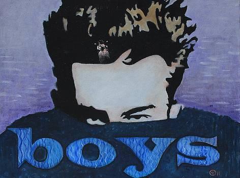 James Dean in a Sea of Love and Fun Boys by Cynthia Van Leeuwen